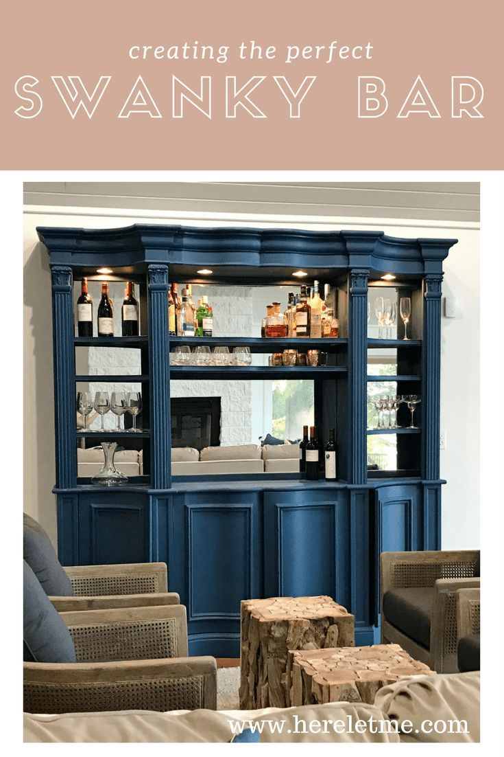Chalk Painting Furniture How to create the perfect Swanky Bar