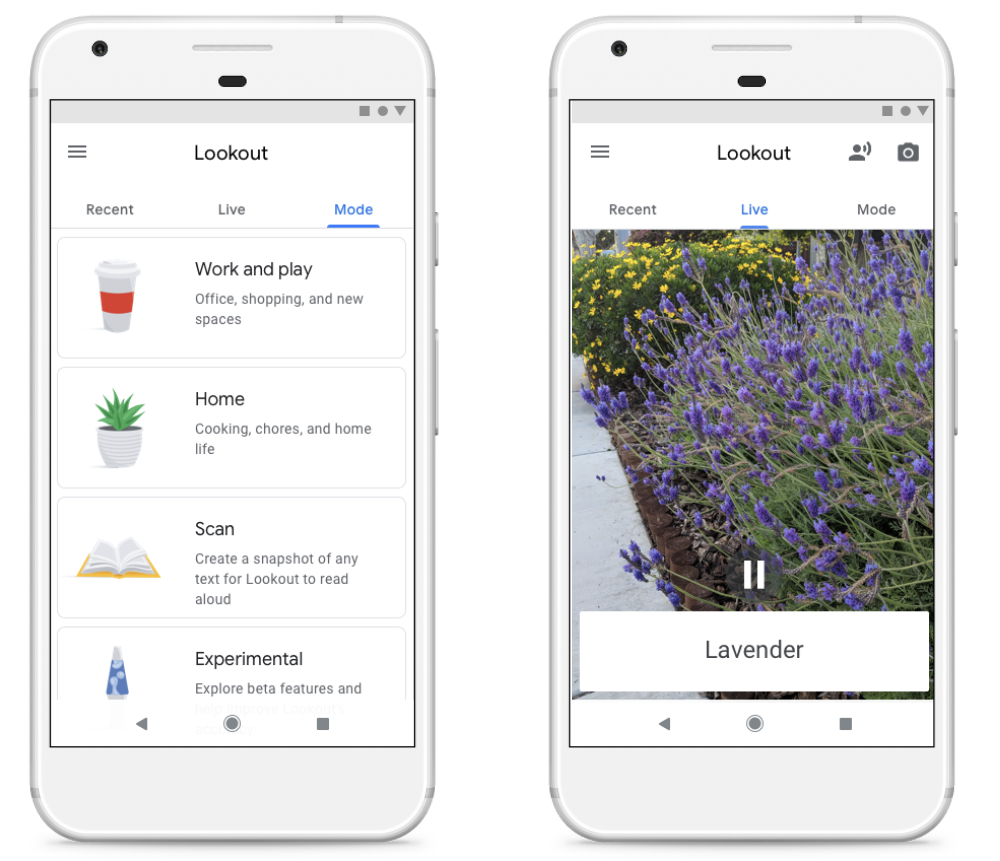Google's Lookout app is especially created for the