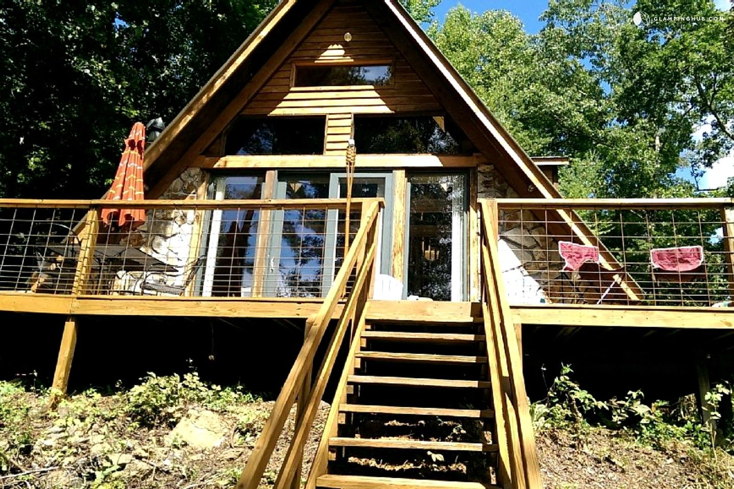 Superieur A Frame Cabin Rental With Private Dock On Watauga Lake Near Johnson City,  Tennessee