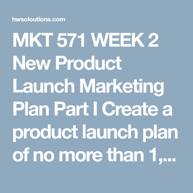 product launch plans