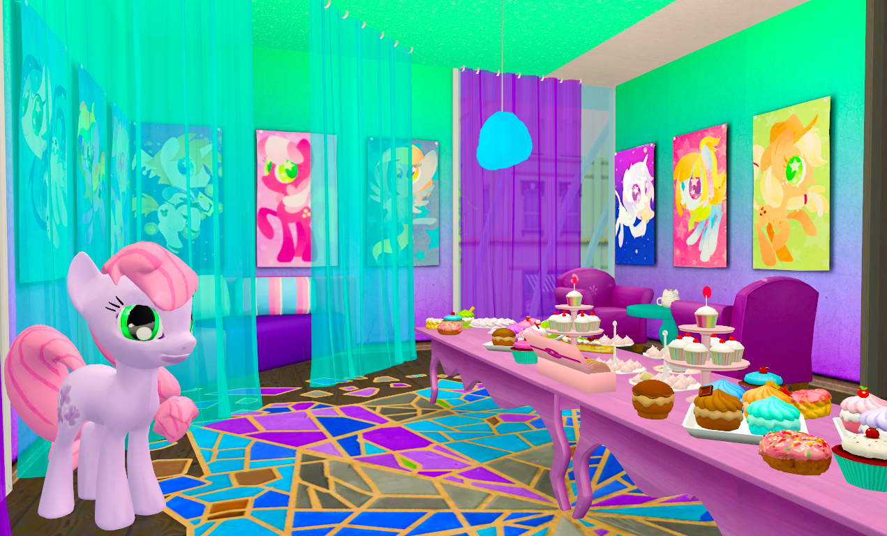 The Comics & Games mall My Little Pony saloon 2/2