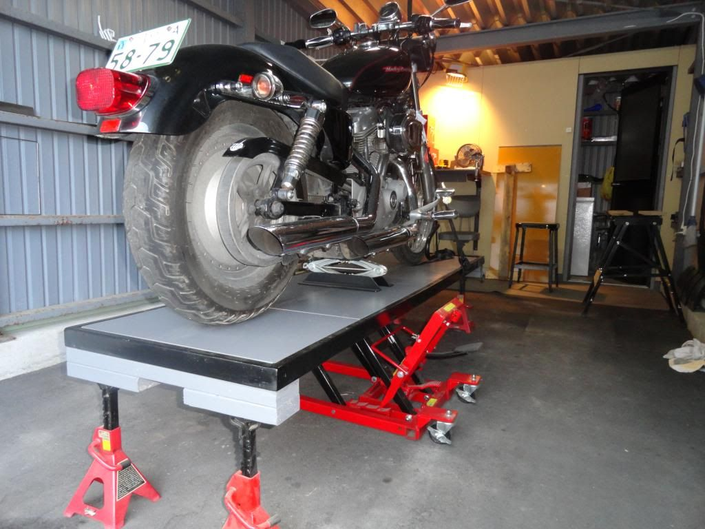 Chopcult Diy Motorcycle Lift Table Page 3