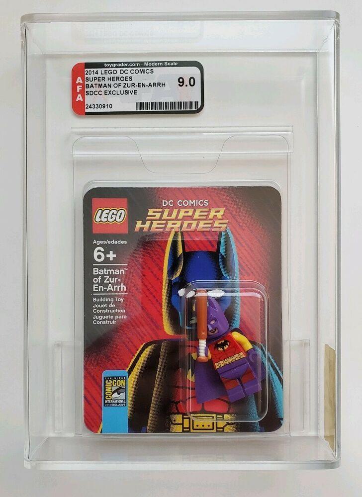 LEGO SDCC 2014 BATMAN ZUR-EN-ARRH MINI FIGURE AFA 9.0 # ...