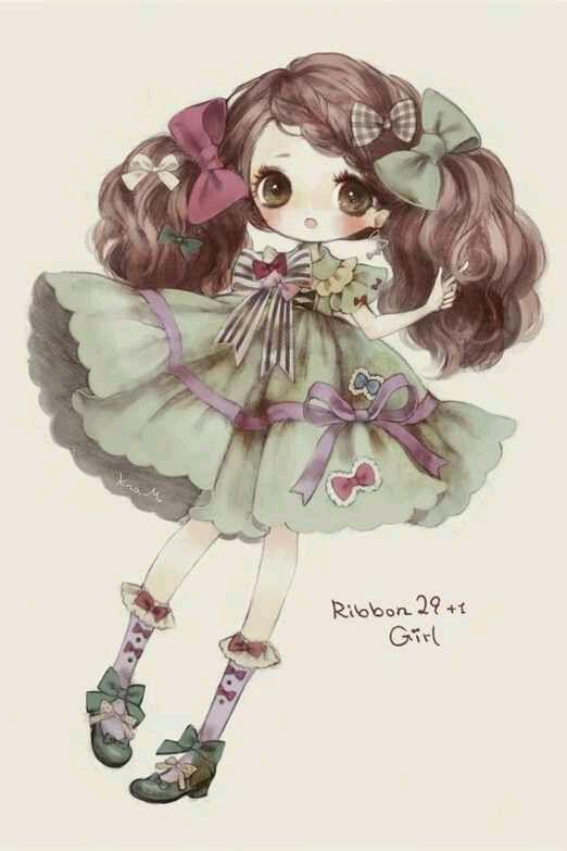 kawaii cute girl