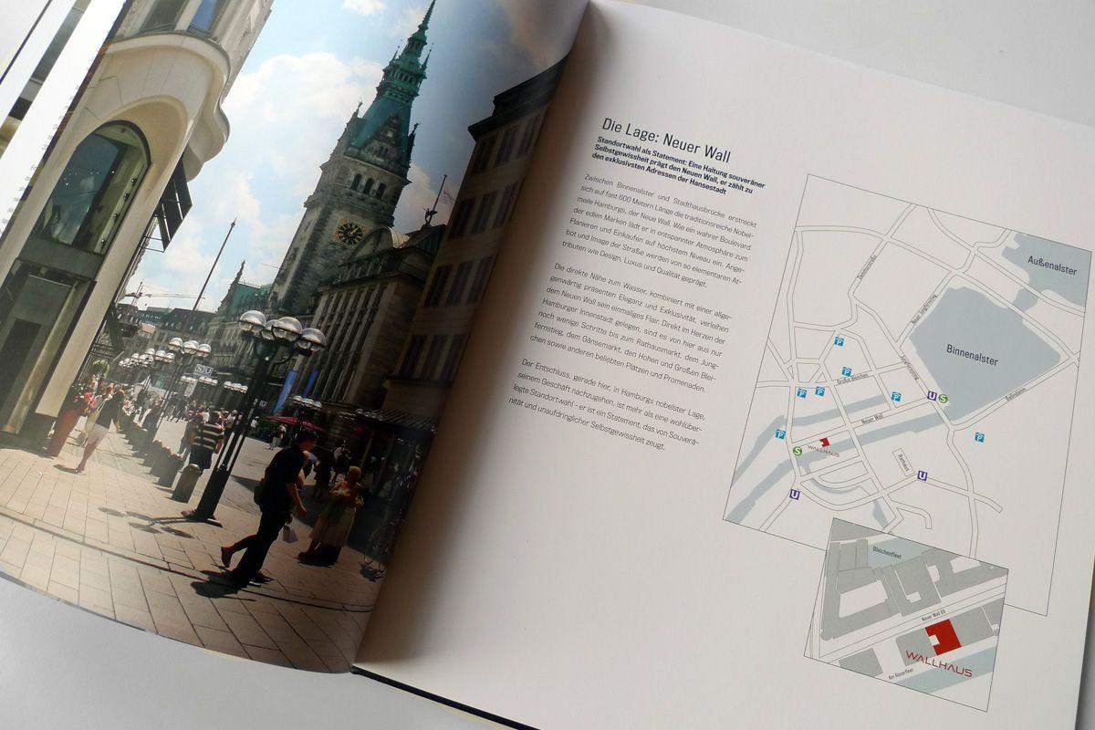 WALLHAUS Hamburg, Entwicklung Corporate Design und Vermarktungsstrategie | lab3 mediendesign