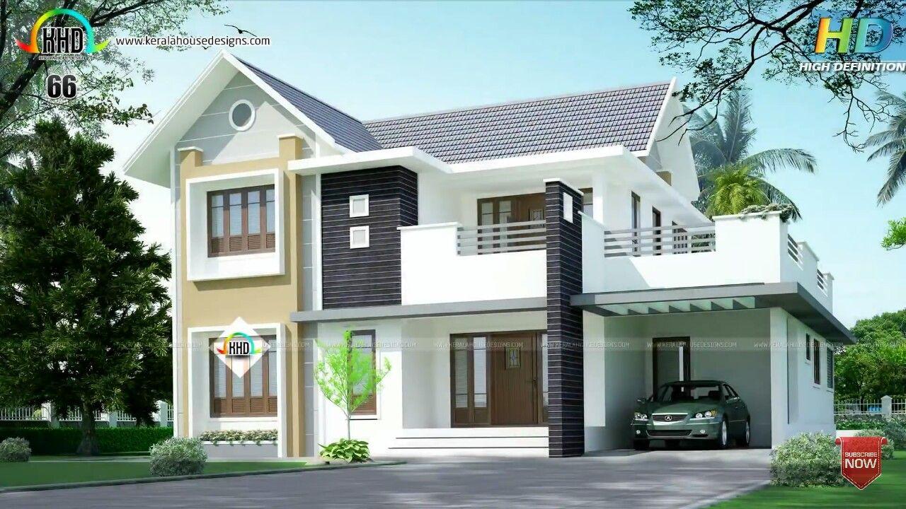 Pin By Tareq Parey On House Elevation Kerala House Design Duplex House Design Small House Elevation Design