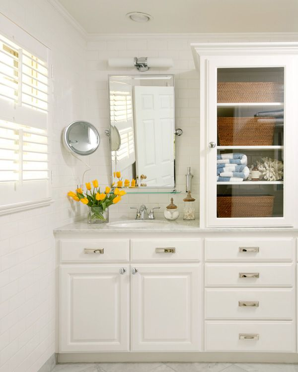After For My Master Bathroom In My Former Home I Went For An