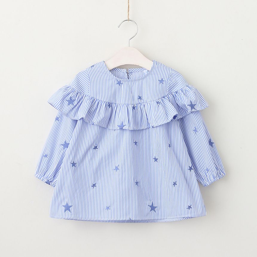 Ruhua Baby Grils Warm Long Sleeve Butterfly Pattern Down Parka Coat