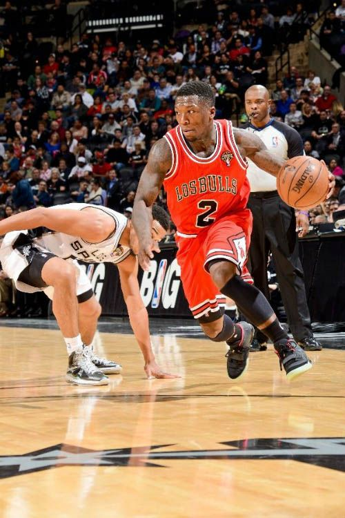 Nate Robinson wearing Nike Air Yeezy 2- Black Solar Red  355ced925