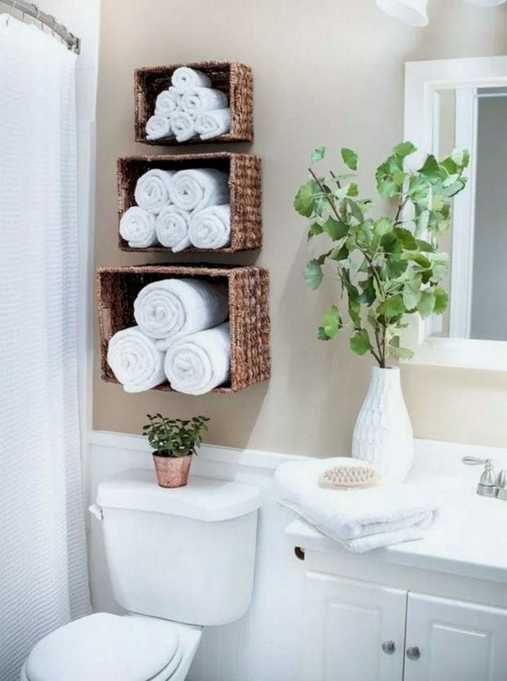 15 Extraordinary DIY Bathroom Shelves For Best Organization Ideas - DEXORATE