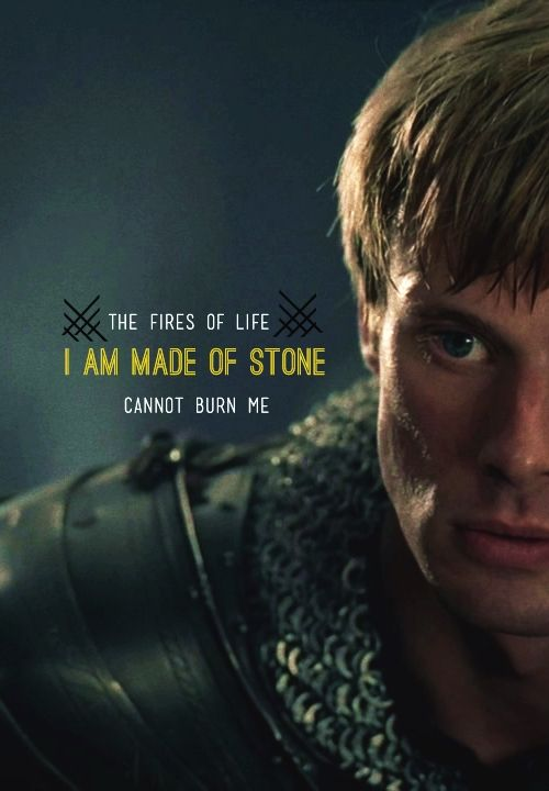 I am made of stone.