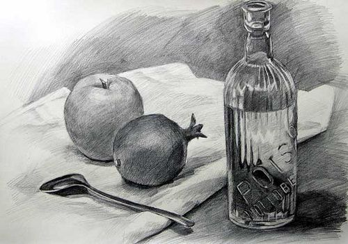 Pencil still life drawings google search