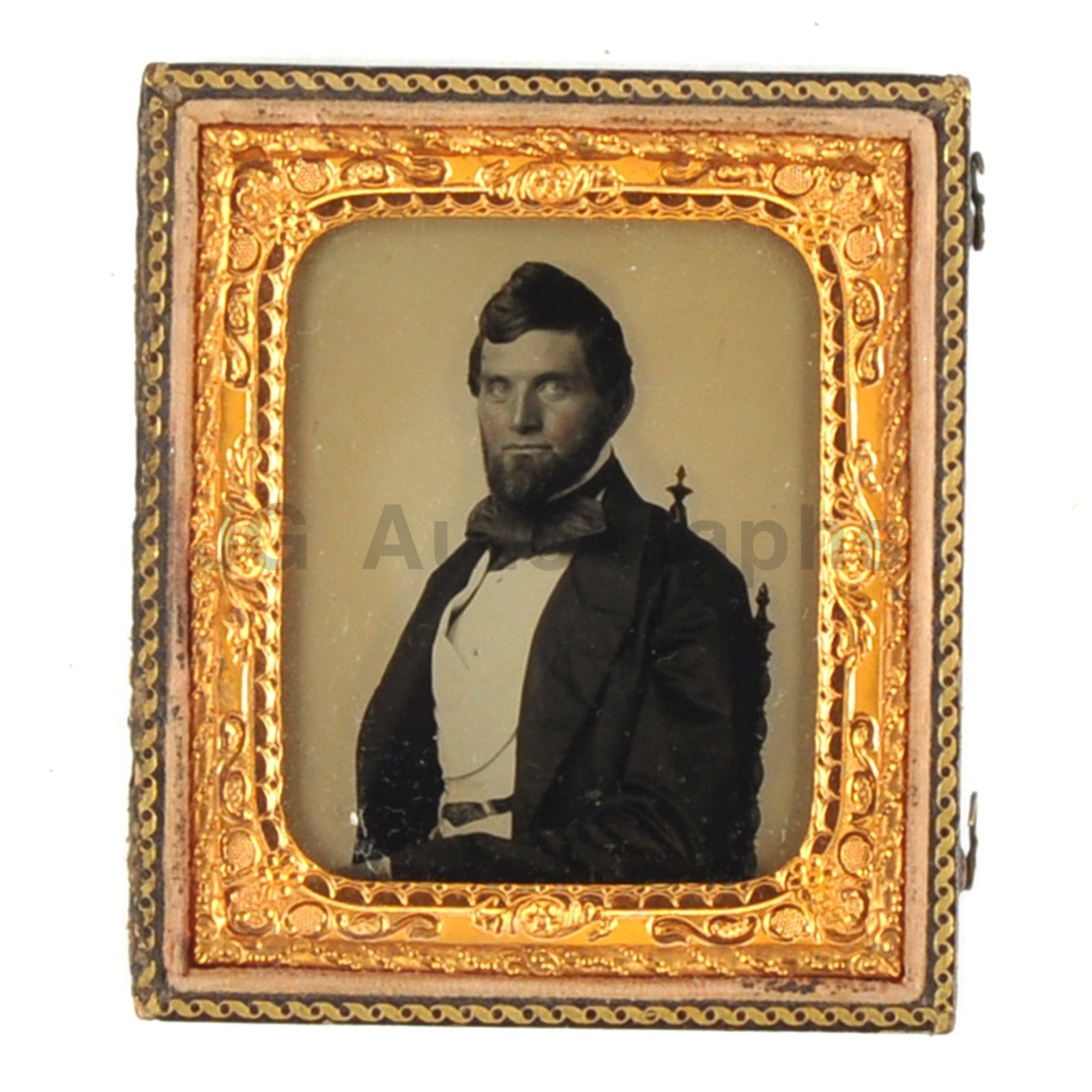 Sixth Plate Ambrotype 19th Century Man Photograph in Vintage Case | eBay