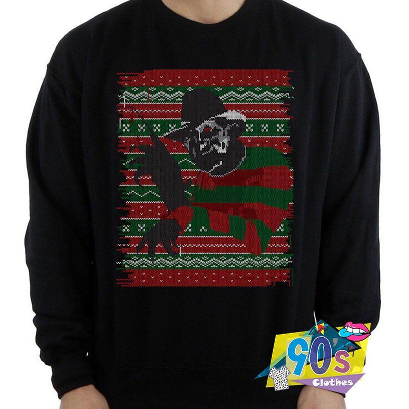 Freddy Krueger Nightmare On Elm Street Sweatshirt