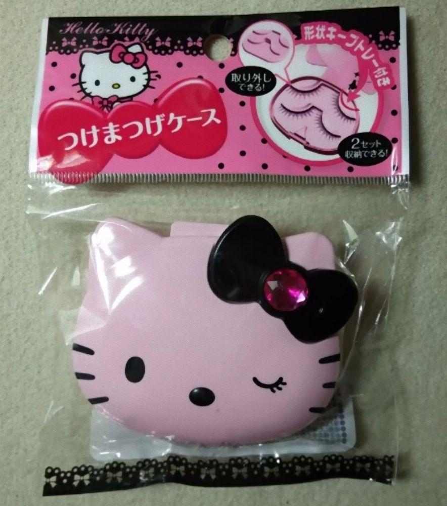 Daiso Japan Hello Kitty Portable False Eyelashes Case Fs