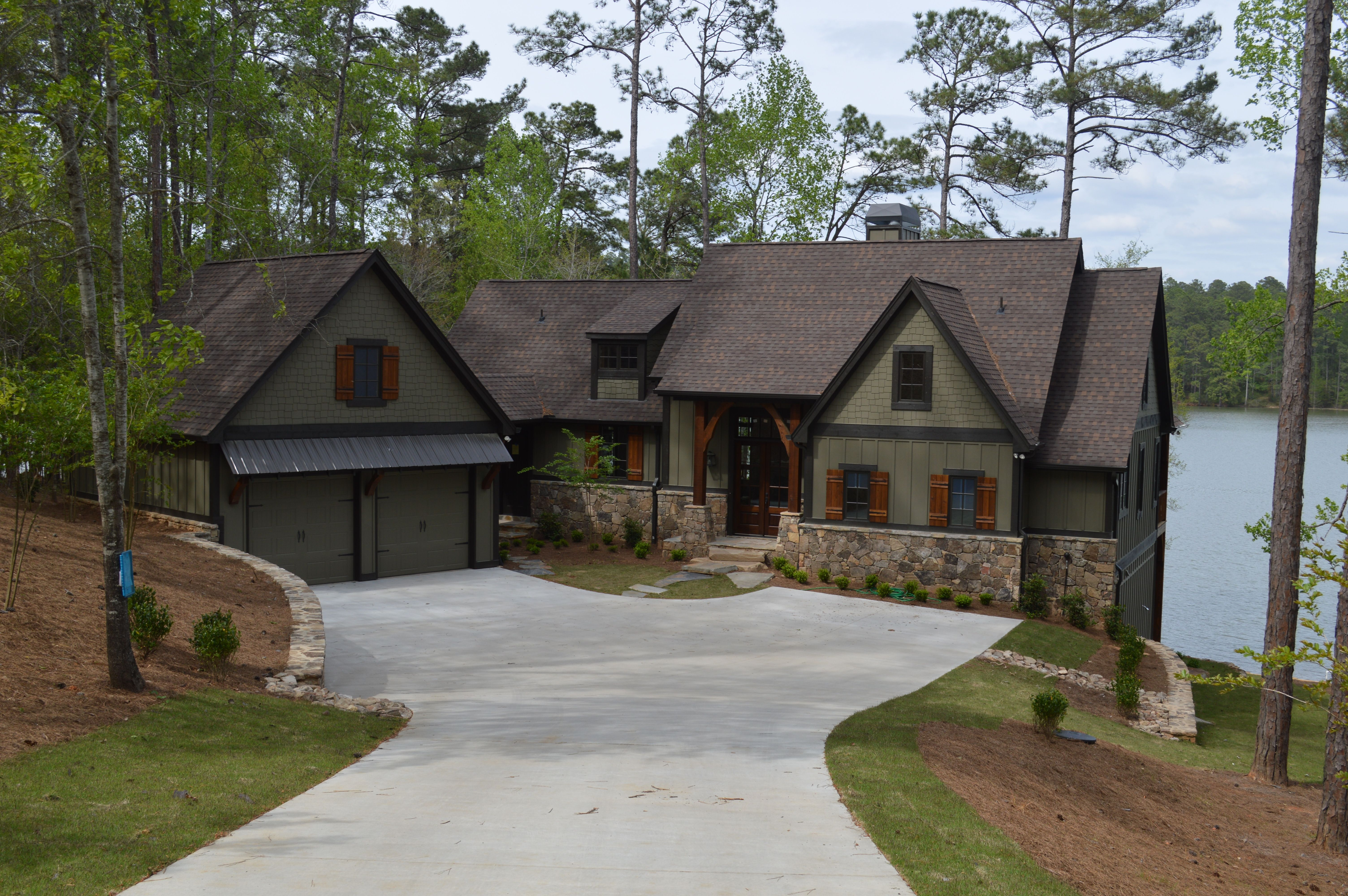 custom lake house plans