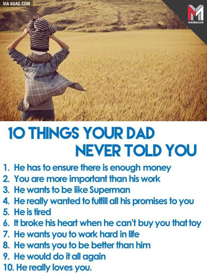 If You Love Your Dad Love You Dad Dad Quotes Told You So