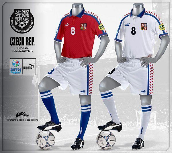 Republica Checa - Euro 1996  c83b01f5cf407