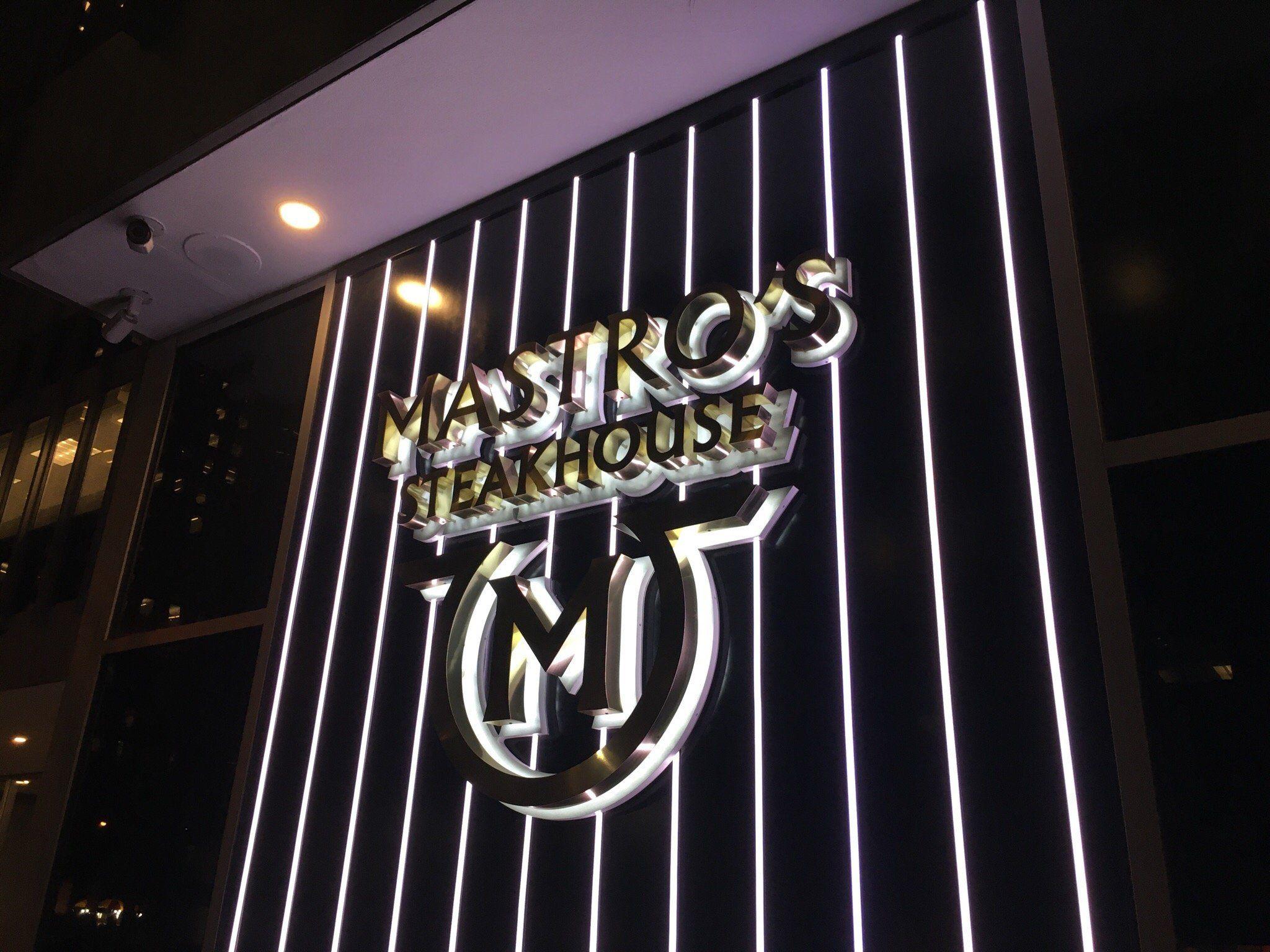 Mastro S Steakhouse New York City Midtown Restaurant Reviews
