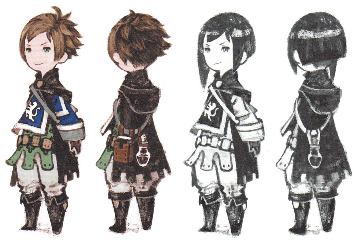Yew Geneolgia Characters Art Bravely Second End Layer Game Character Design Character Art Character Design