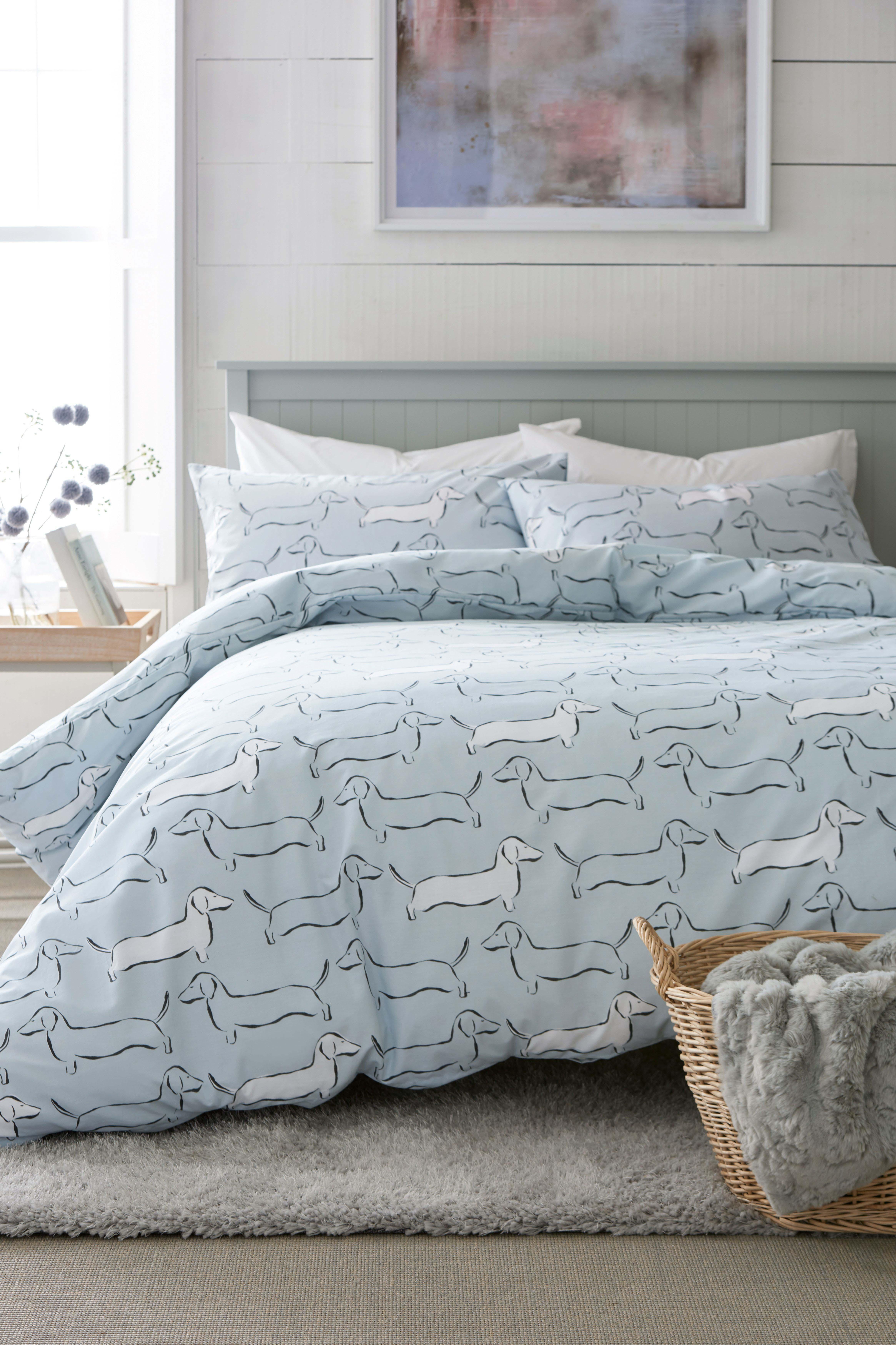 Next Dachshund Bed Set Blue Bed Linens Luxury Bedding Sets