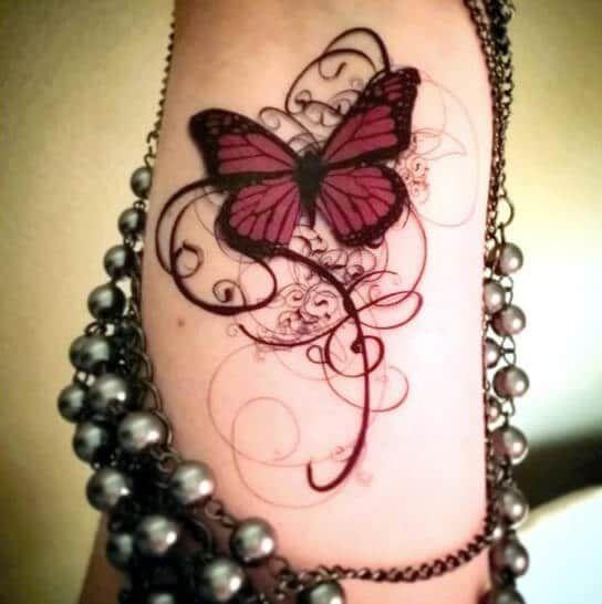 Photo of 50 Schmetterling Tattoos für Frauen – Tattoo Motive