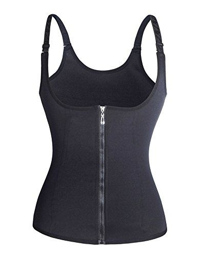c920c577e3 Gotoly Curves Shapers Adjustable Straps Body Shaper Waist Cincher Tank Top  XXXXLarge Black Zip Hook     Be sure to check out this awesome product.