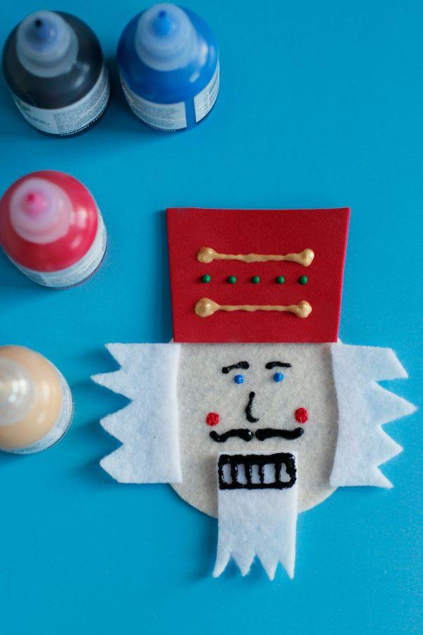 how to make a nutcracker christmas decoration