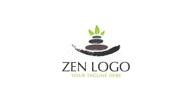 Zen Spa And Wellness Massage Logo Ready Made Logo Designs 99designs Massage Logo Beauty Logo Design Yoga Logo Design
