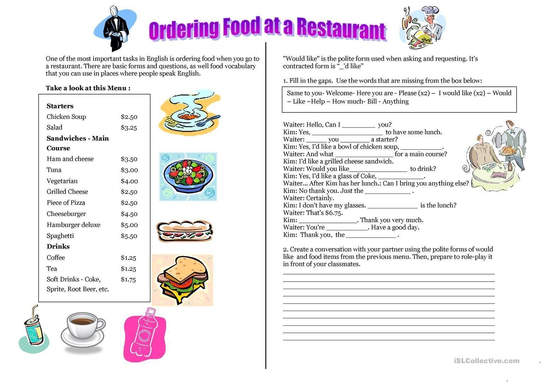 Resultado De Imagen Para Food And Drinks Worksheets