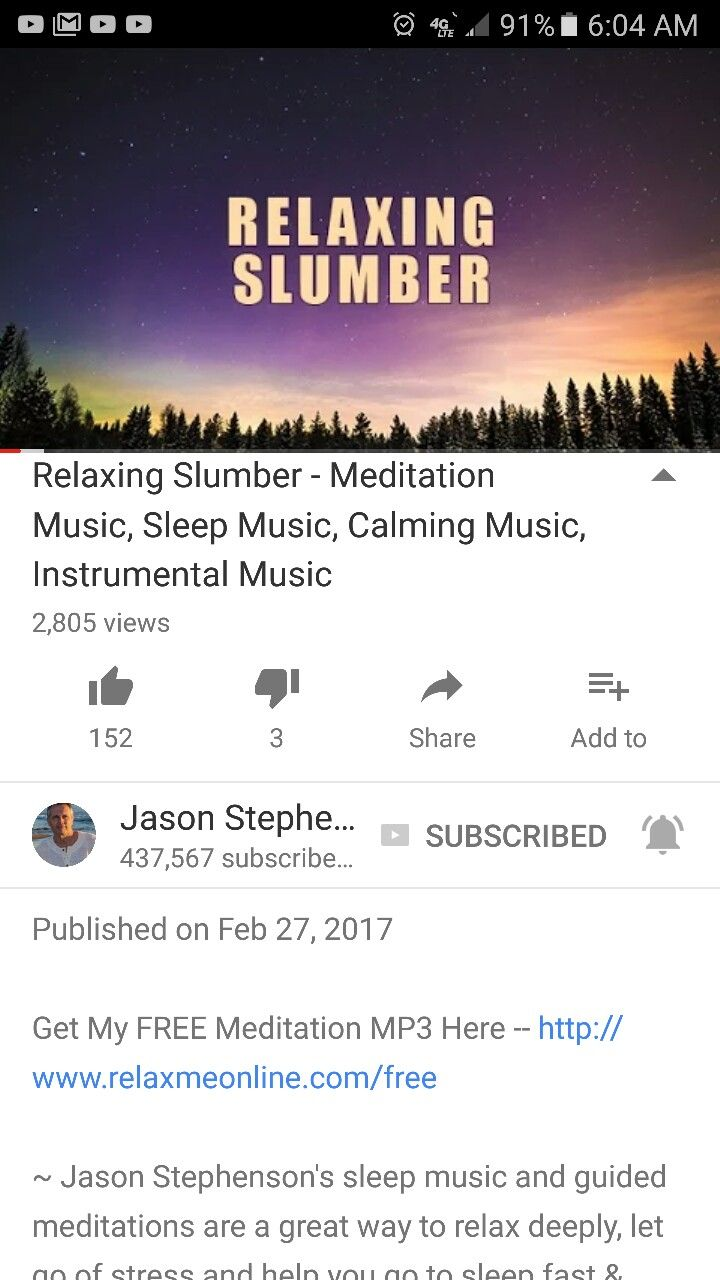 Relaxing Slumber - Meditation Music, Sleep Music, Calming