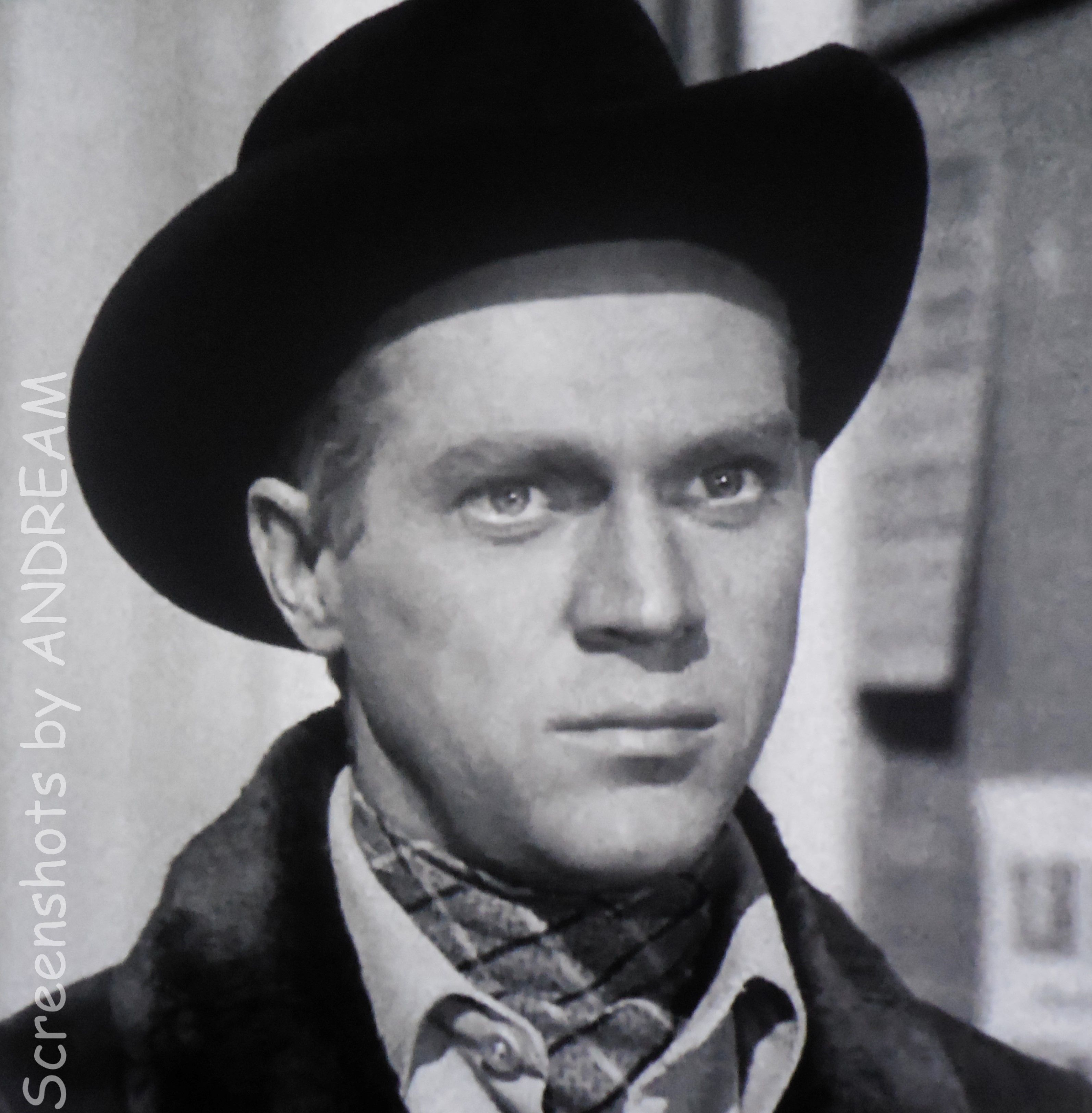 Steve Mcqueen Guest Star The Bounty Hunter 1958 Trackdown Pilot Episode For His Series Wanted Dead Or Alive Which Premiered Later That Year
