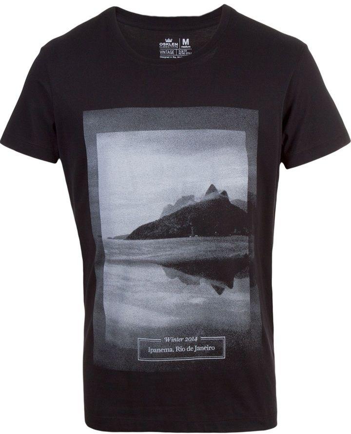 Osklen Ipanema print T-shirt - ShopStyle Shirts