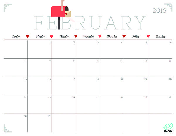 February 2020 Printable Calendar Cute.Cute And Crafty 2019 Calendar Free Cute Crafty Printable