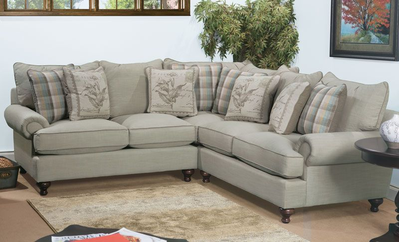 casual sectional sofa from the paula deen home collection