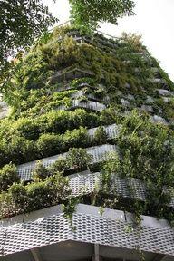 Green Side-Wall – Barcelona | Cappella Garcia ArquitecturaArquitectura  ..