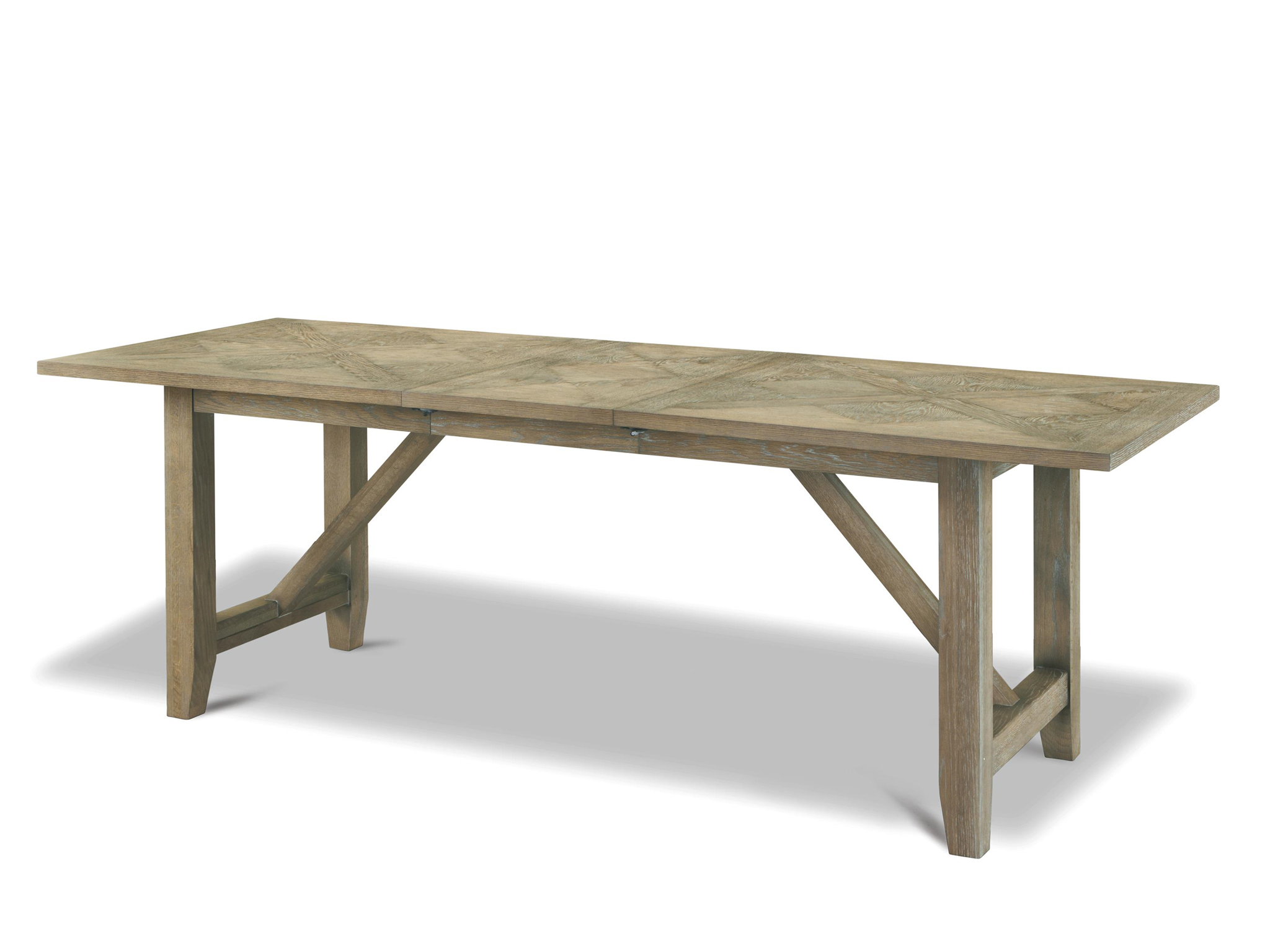 Universal Curated Chelsea Kitchen Table 78x36 Leaf