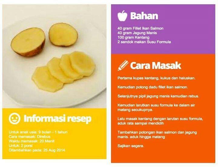 Pin Oleh Harni Chrisandha Di Resep Makanan Bayi 6 Bulan Resep Makanan Bayi Makanan Bayi Makanan