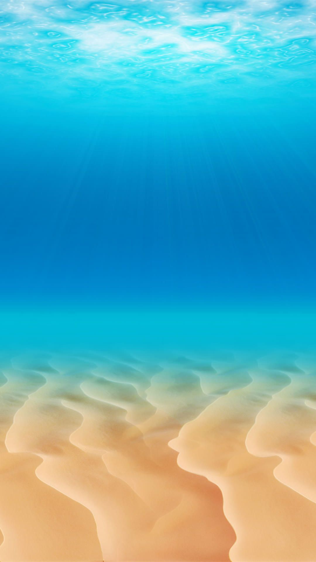 澄んだ海の中 Iphone6 Plus 壁紙 Wallpaperbox ビーチの壁紙