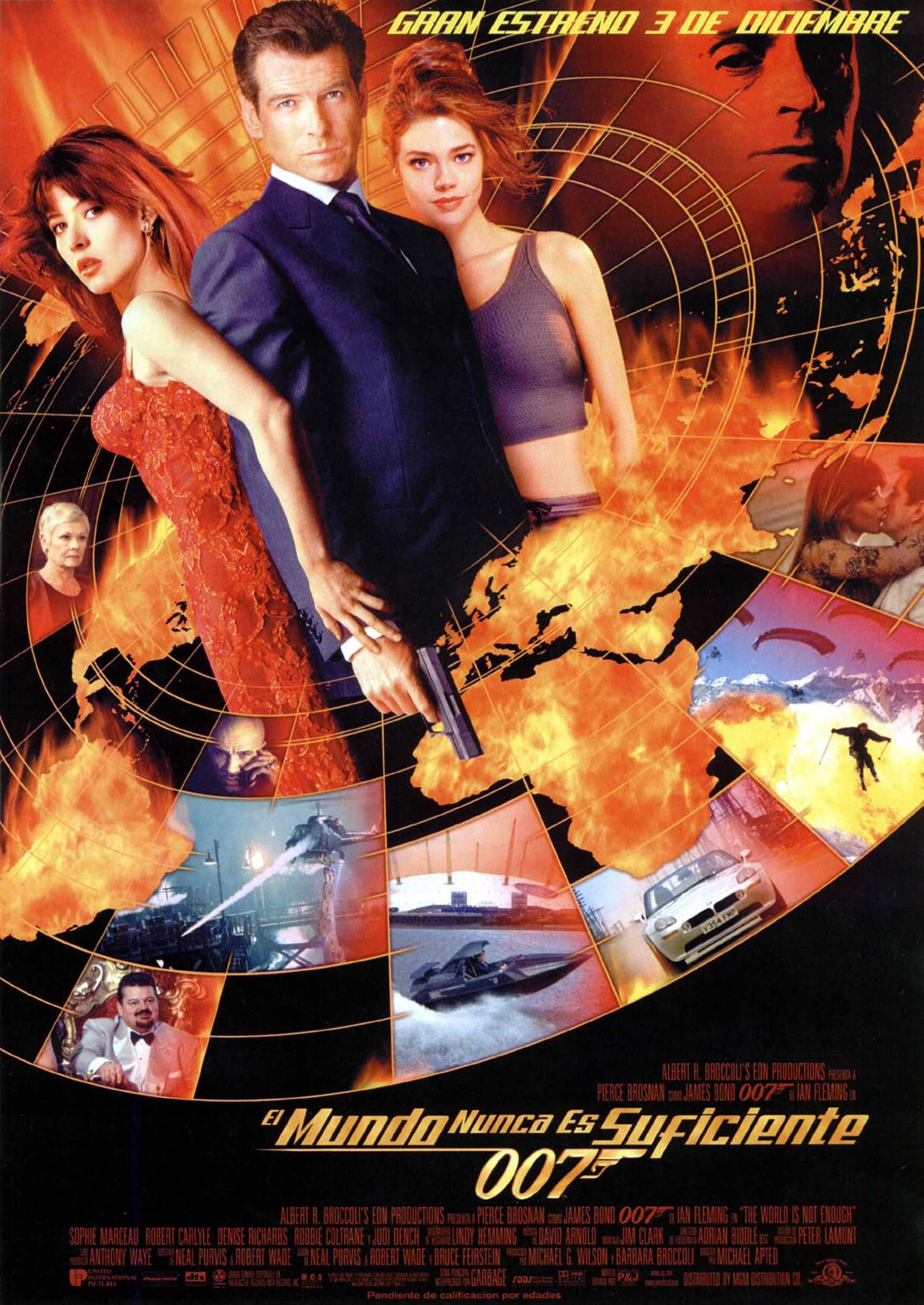 The World Is Not Enough 1999 Chicas Bond Peliculas De James