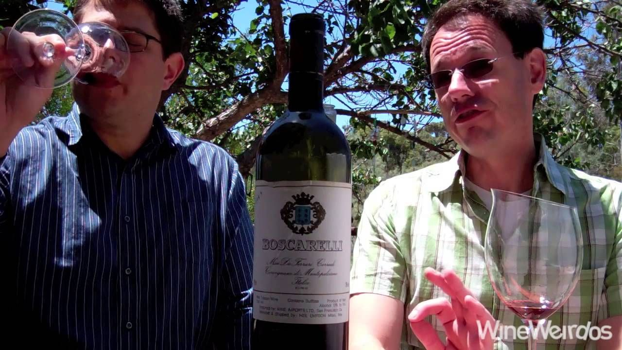 1985 Boscarelli Marchesi de Ferrari Corradi Vino da Tavola We Enjoy An Aged Super Tuscan Wine