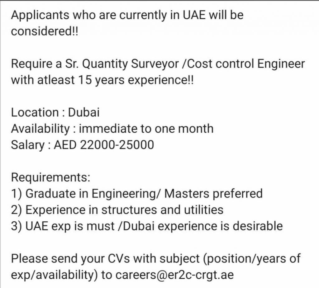 Pin On Jobs In Dubai
