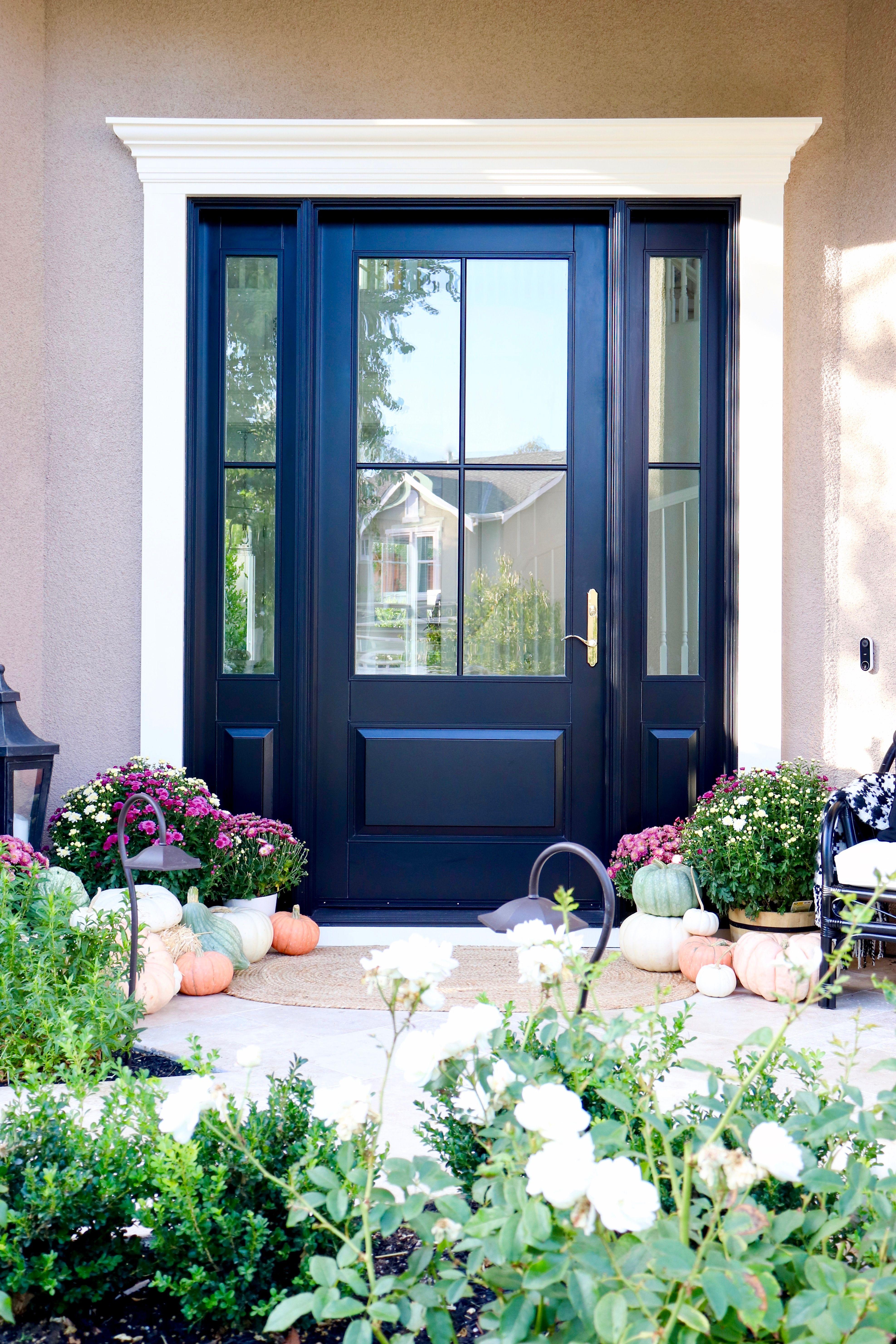 Front Door Reveal with Andersen Doors | h o l i d a y