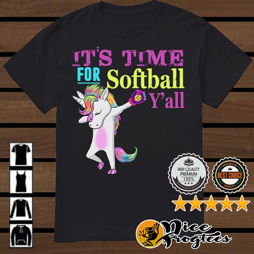 Dabbing Unicorn Shirt Personalized Gift for a Girl Pink raglan  Baseball shirt