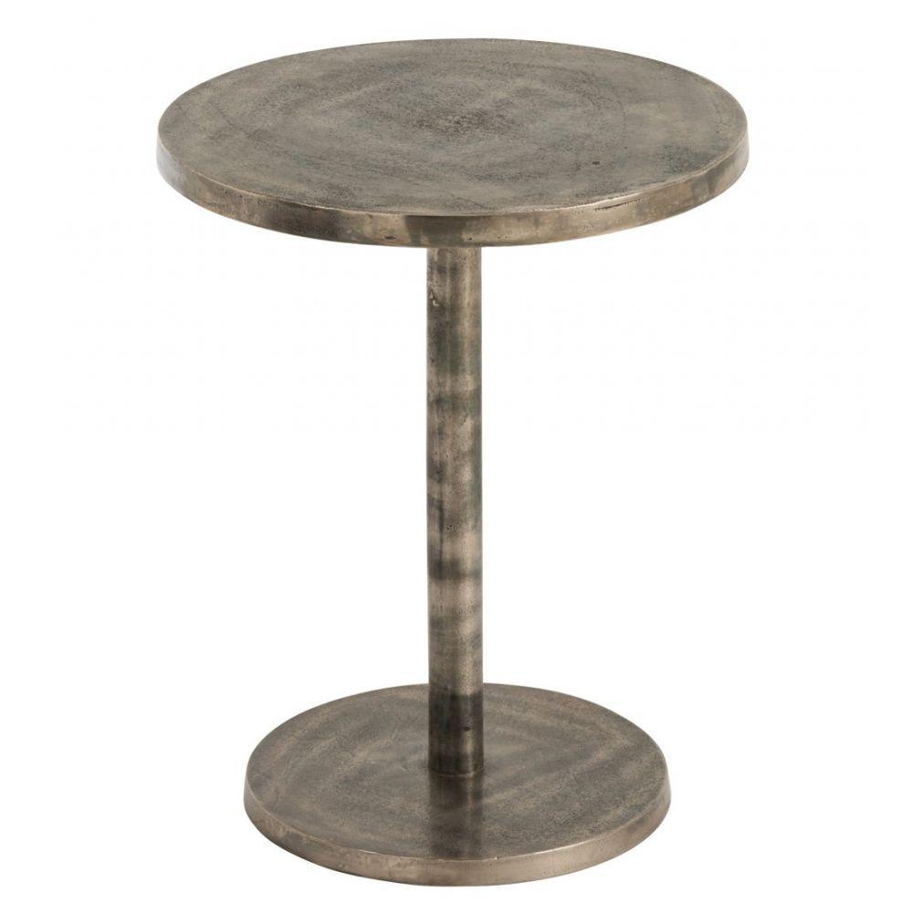 Table Bistrot Ronde Reglable Alu Gris 40x40x50 Cm Ref 30022965 Table Bistrot Ronde Table Bistrot Table