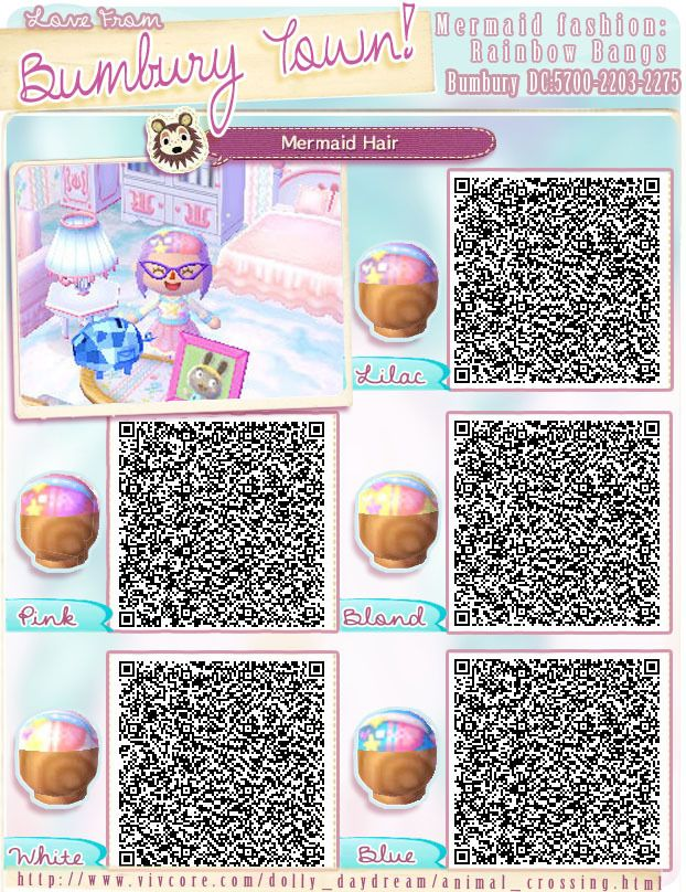 Animal Crossing QR Codes \u2014 bumburytown Added a few more