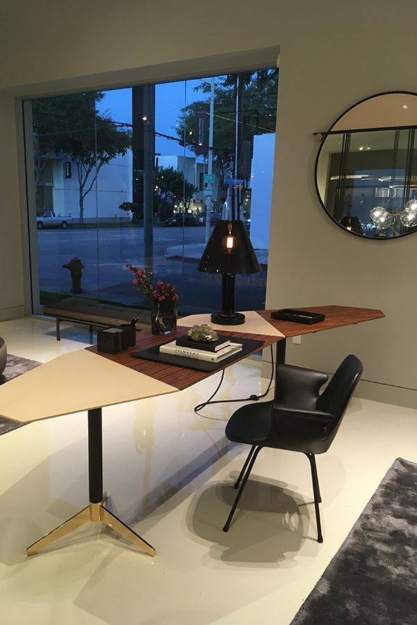Zen Office Desk Designed By Massimo Castagna On Display At MASS Beverly  Showroom In Los Angeles. Zen Deu2026 | Exclusive Dealer | MASS Beverly, Los  Angeles In ...