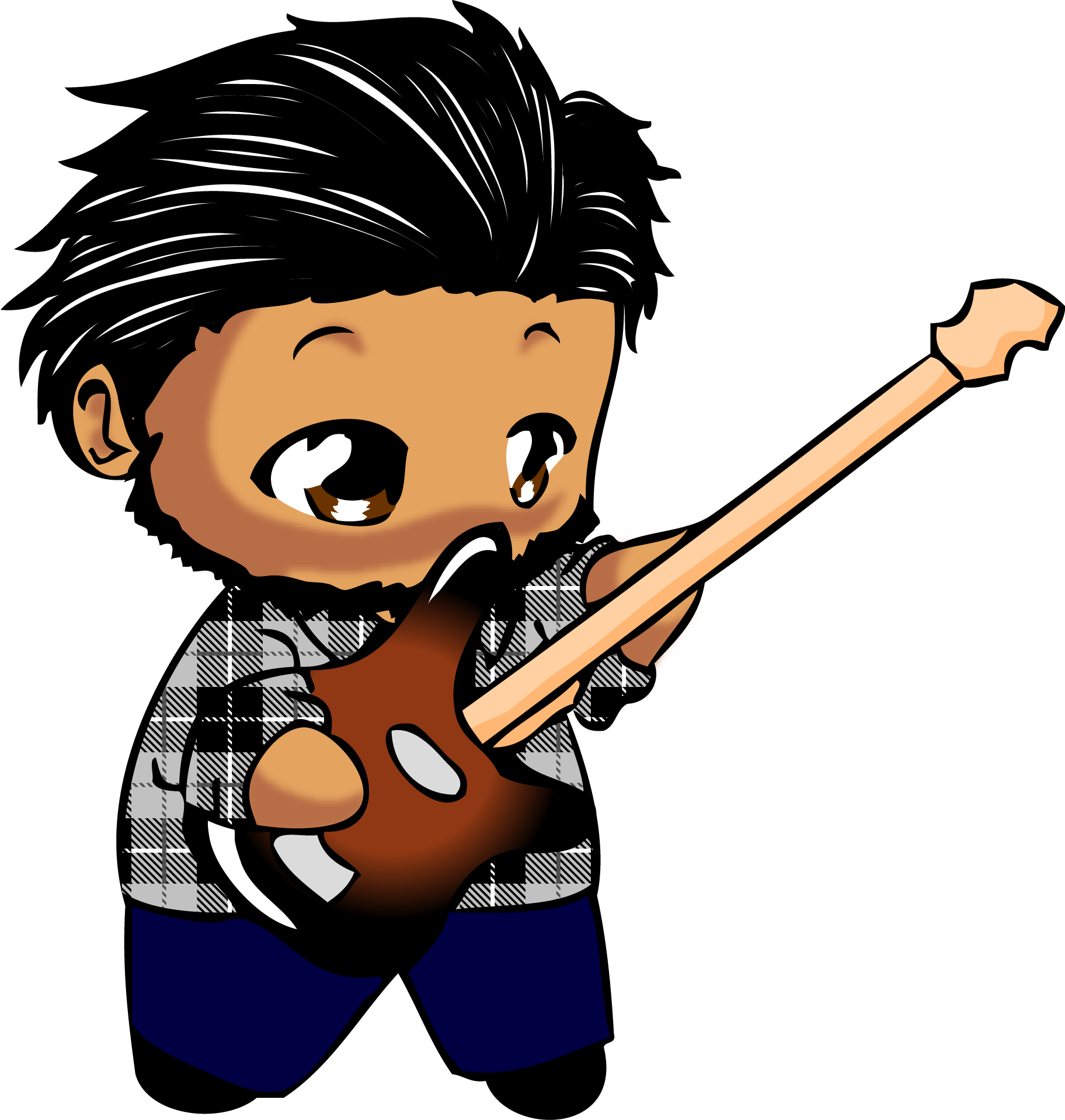guitar players | Chibi Guitar Player by Kasuto-Productions