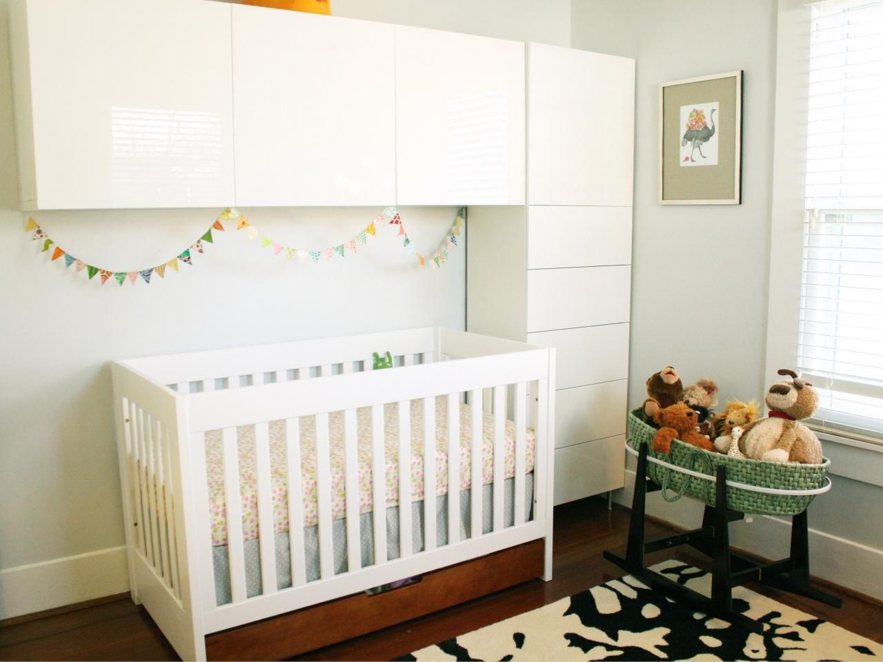 Beautiful Small Nursery Furniture. Nursery Furniture For Small Spaces. Baby Spaces    Interior Paint Color