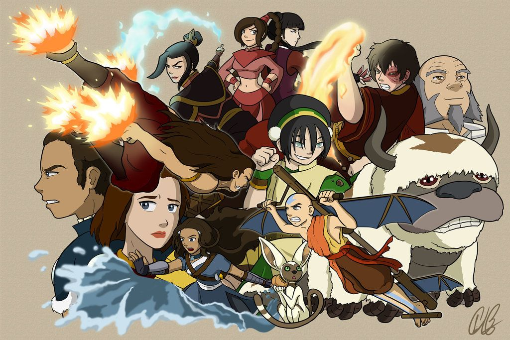 Consider, that Avatar the last airbender fan characters helpful information